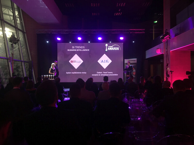 IT Future Awards 2019 - nominacja da BI Insight